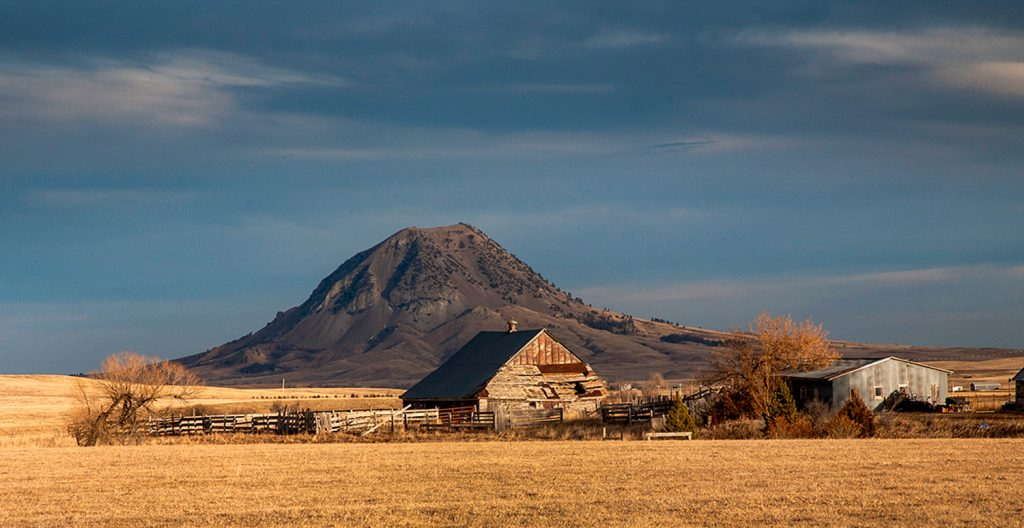 Bear Butte is a geological laccolith feature located near Sturgis, South Dakota, United States, that was established as a State Park in 1961. Photo: Buck Lovell